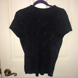 Open back tshirt